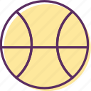ball, basketball, game ball, game equipment icon