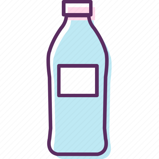 bottle, container, flask, glass container, plastic container icon