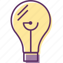 bulb, electric light, electricbulb, light, lightbulb icon