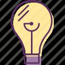 bulb, electric light, electricbulb, light, lightbulb
