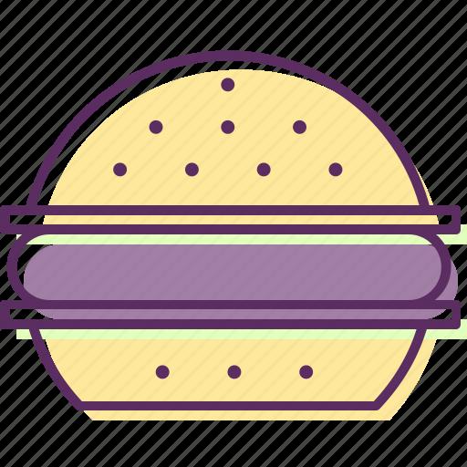 beefburger, burger, hamburger, sandwich icon