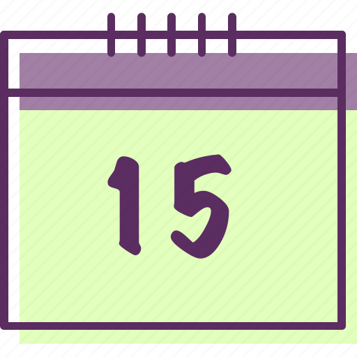 calendar, date, day, details, list, number icon