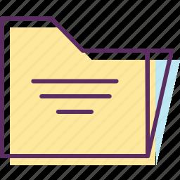 data, document, file, files, folder, note, record icon
