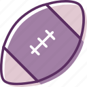 ball, football, football game, rugby, sphere icon