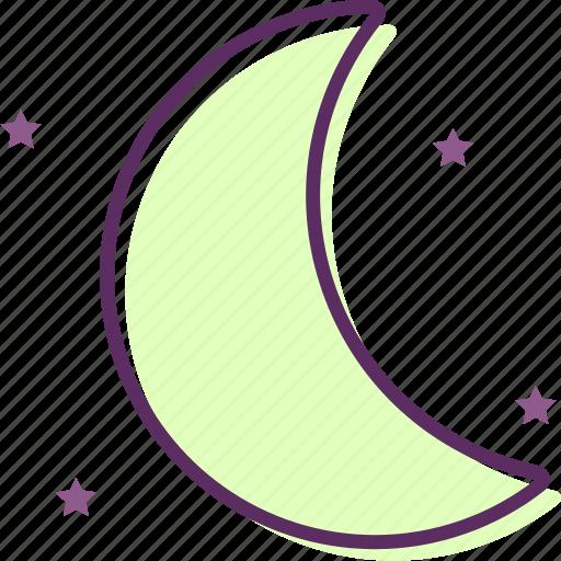 daydream, lunation, moon, moonlight, moonshine, satellite icon