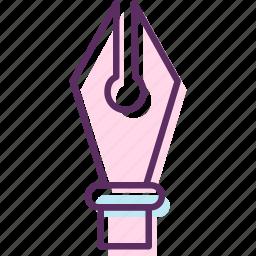 ballpoint, felt tip, fountain pen, highlighter, marker, pen, roller ball icon