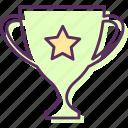 award, keepsake, medal, memento, prize, souvenir, trophy icon