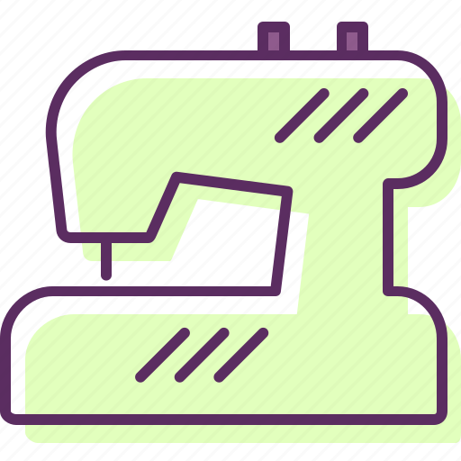 machine, machinery, sewer, sewing, sewing machine icon