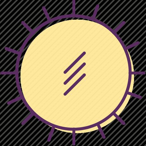 day star, daylight, sun, sun rays, sunlight, sunshine icon