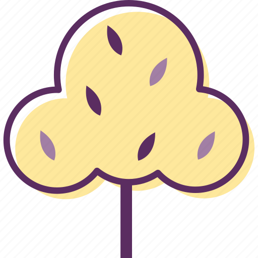 plant, school, shrub, tree, wood icon