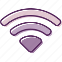 signal, wifi, wireless, wireless fidelity, wlan icon
