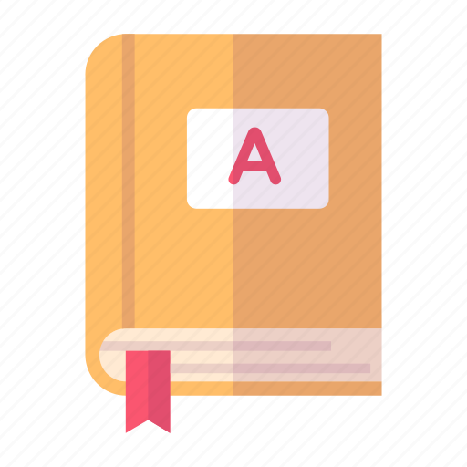 diary, education, notebook icon