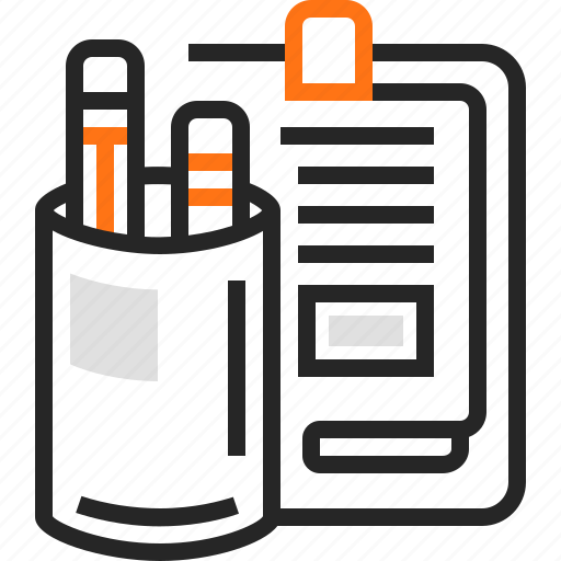 education, notepad, pen, pencil, tablet, tool, tools icon