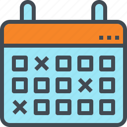 appointment, calendar, date, save, schedule icon