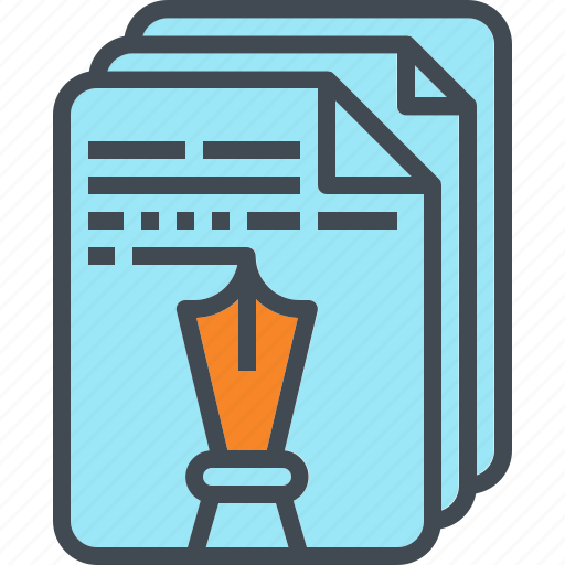 article, design, essay, pen, story, writing icon