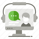 computer, education, online, tutorial icon