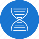 biology, chain, dna, genetics, molecule, organization, structure icon