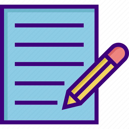 article, content writing, document, edit, file, pencil, write icon