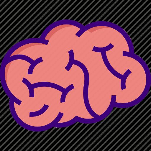 brain, brainstorm, idea, mind, question, think, thinking icon