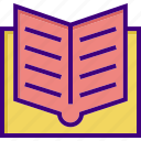 book, education, knowledge, learning, reading, school, study icon