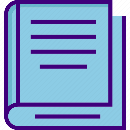 book, education, knowledge, learning, notebook, reading book, study icon