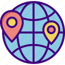 direction, distance, distance education, education, gps, location, pin icon