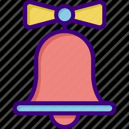 alert, bell, christmas, christmas bell, ring, school bell, wedding icon
