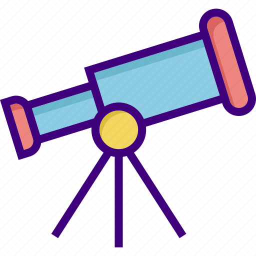 astronomy, explore, gastronomy, magnifier, observation, telescope, view icon