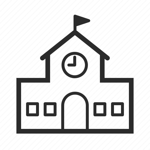 Building, education, school, university icon - Download on Iconfinder