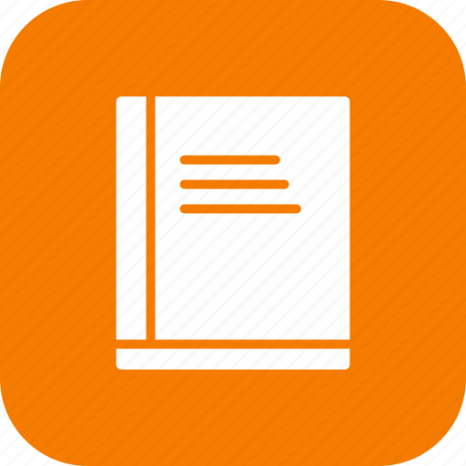 book, encyclopedia, information, learn, literature, reading, studying icon
