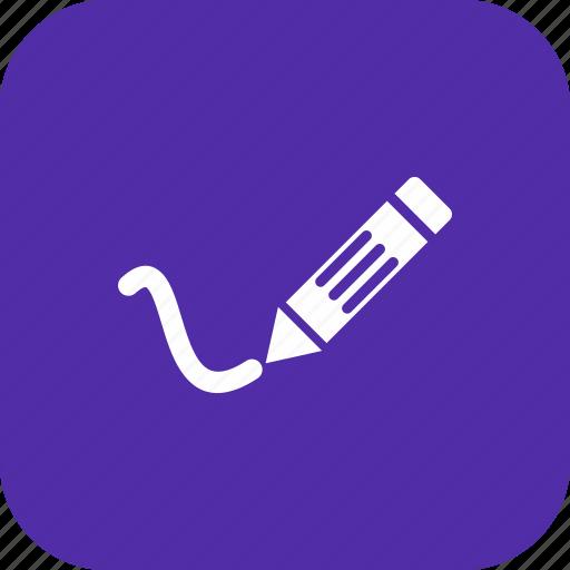 draw, edit, pen, pencil, writing icon