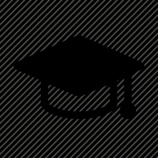 education, graduate hat, learning, school, university icon