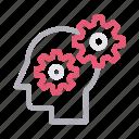 creative, head, innovation, mind, setting