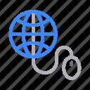 global, internet, mouse, online, web