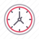 clock, education, schedule, time, watch icon
