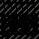 burner, experiment, lab, testtube, tubestand icon