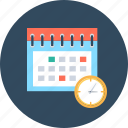 calendar, period, schedule icon
