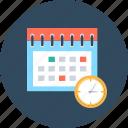 calendar, period, schedule icon