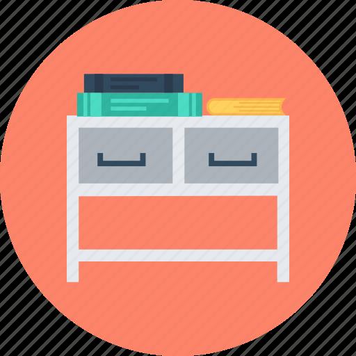 desk, shelf icon