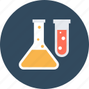 chemical, flask, science icon