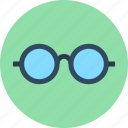 glasses, science, smart icon