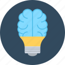 brain, idea, science, smart icon