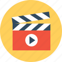 movie, player icon