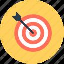 aim, shooting, target icon