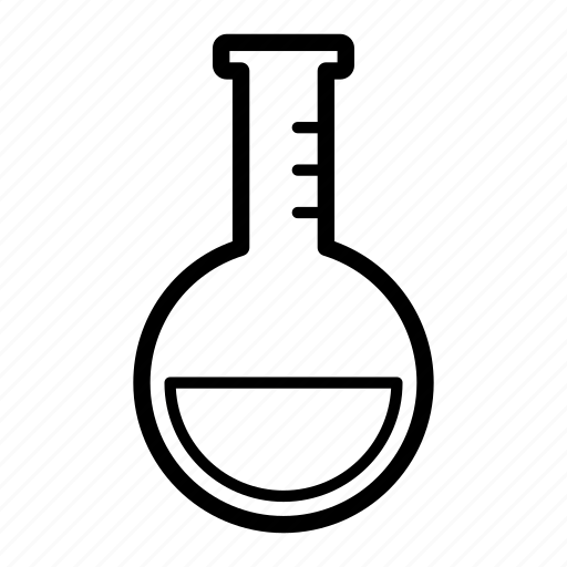 education, flask, physics, school, science icon