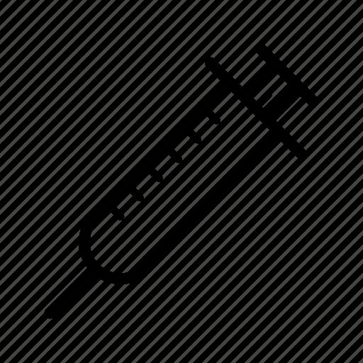 education, physics, school, science, syringe icon