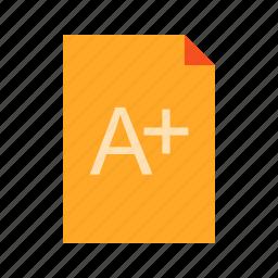 grade, legal, pad, paper, school, standardized, test icon