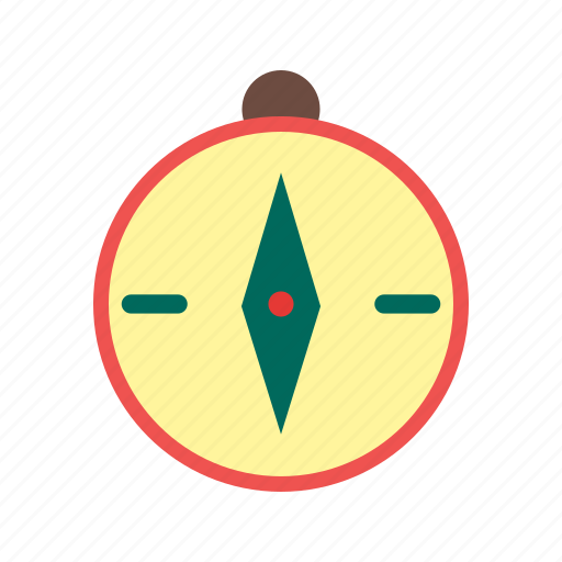 compass, direction, equipment, latitude, measurement, navigation, travel icon