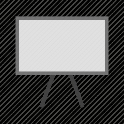 blackboard, board, chalk, chalkboard, class, frame, school icon