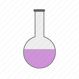 beaker, chemical, flask, glass, lab, laboratory, liquid icon